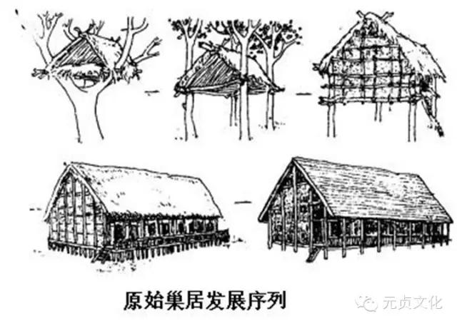 """有巢氏——中国第一名建筑师与他的""""原始屋"""""""